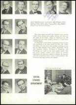 1961 York Suburban High School Yearbook Page 20 & 21