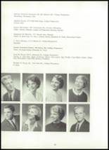 1961 York Suburban High School Yearbook Page 72 & 73