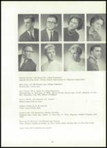 1961 York Suburban High School Yearbook Page 98 & 99