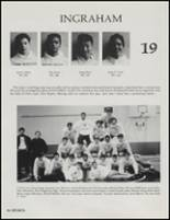 1991 Ingraham High School Yearbook Page 100 & 101