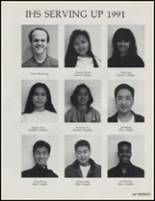 1991 Ingraham High School Yearbook Page 110 & 111