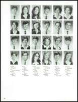1970 St. Agnes High School Yearbook Page 42 & 43