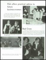 1970 St. Agnes High School Yearbook Page 116 & 117