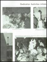 1970 St. Agnes High School Yearbook Page 128 & 129