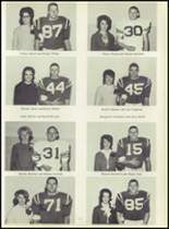 1965 Canton High School Yearbook Page 130 & 131
