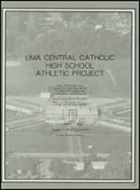 1983 Lima Central Catholic High School Yearbook Page 56 & 57