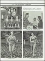 1983 Lima Central Catholic High School Yearbook Page 90 & 91