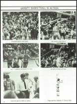 1983 Lima Central Catholic High School Yearbook Page 98 & 99