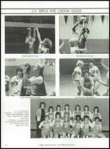 1983 Lima Central Catholic High School Yearbook Page 100 & 101