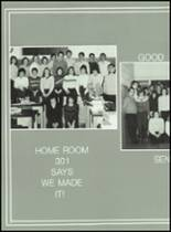 1983 Lima Central Catholic High School Yearbook Page 124 & 125