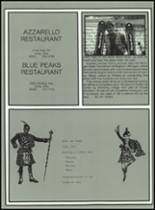 1983 Lima Central Catholic High School Yearbook Page 126 & 127