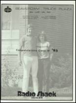 1983 Lima Central Catholic High School Yearbook Page 144 & 145