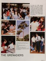 1985 Colonial High School Yearbook Page 16 & 17