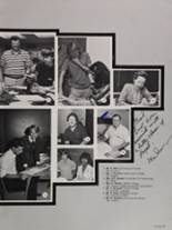 1985 Colonial High School Yearbook Page 70 & 71