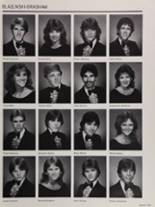 1985 Colonial High School Yearbook Page 156 & 157