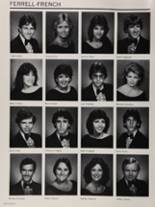 1985 Colonial High School Yearbook Page 166 & 167