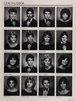 1985 Colonial High School Yearbook Page 174 & 175