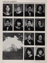 1985 Colonial High School Yearbook Page 176 & 177
