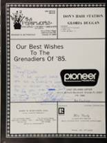 1985 Colonial High School Yearbook Page 274 & 275