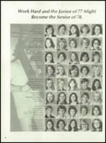 1977 Santa Fe High School Yearbook Page 68 & 69