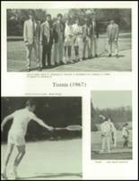 1968 Woodberry Forest High School Yearbook Page 176 & 177
