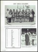 1987 Baird High School Yearbook Page 44 & 45