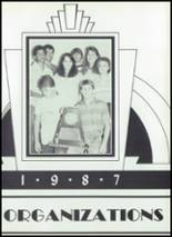 1987 Baird High School Yearbook Page 62 & 63