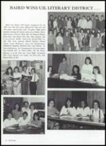 1987 Baird High School Yearbook Page 80 & 81