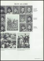 1987 Baird High School Yearbook Page 110 & 111