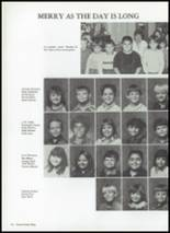 1987 Baird High School Yearbook Page 116 & 117