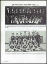 1987 Baird High School Yearbook Page 124 & 125