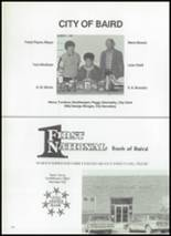 1987 Baird High School Yearbook Page 134 & 135