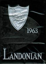 1963 Yearbook Landon High School