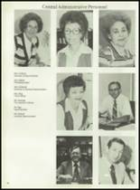 1980 Mt. Pleasant High School Yearbook Page 20 & 21