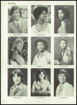 1980 Mt. Pleasant High School Yearbook Page 42 & 43