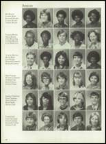 1980 Mt. Pleasant High School Yearbook Page 72 & 73