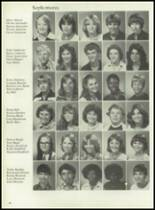 1980 Mt. Pleasant High School Yearbook Page 82 & 83