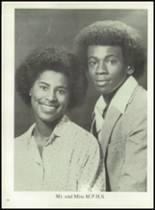 1980 Mt. Pleasant High School Yearbook Page 108 & 109
