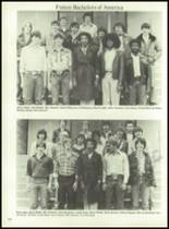 1980 Mt. Pleasant High School Yearbook Page 156 & 157