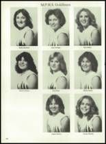 1980 Mt. Pleasant High School Yearbook Page 164 & 165