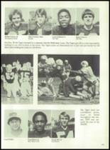 1980 Mt. Pleasant High School Yearbook Page 182 & 183