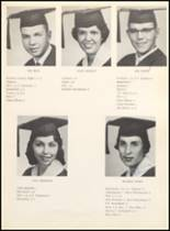 1962 Clyde High School Yearbook Page 20 & 21