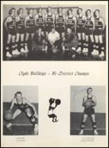 1962 Clyde High School Yearbook Page 62 & 63