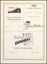 1962 Clyde High School Yearbook Page 116 & 117