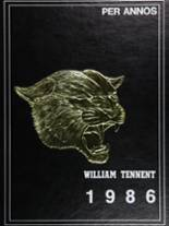 1986 Yearbook William Tennent High School
