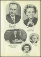 1951 Tipton High School Yearbook Page 16 & 17