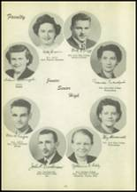 1951 Tipton High School Yearbook Page 20 & 21