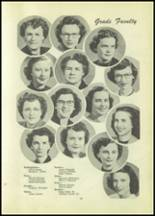 1951 Tipton High School Yearbook Page 22 & 23
