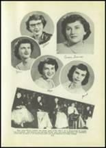 1951 Tipton High School Yearbook Page 28 & 29