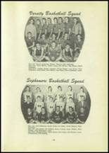 1951 Tipton High School Yearbook Page 30 & 31